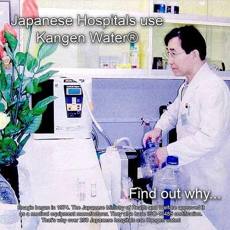 List of Hospitals Using Enagic's Kangen Water Machines: